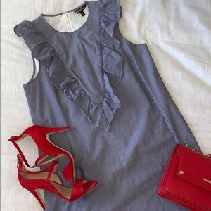 Express striped dress
